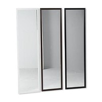 Essential Home Full-Length Door Mirror - White - Home - Home Decor - Wall Decor - Wall Mirrors