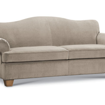 "Litchfield 87"" Queen Sleeper Sofa, Taupe, Sleepers"
