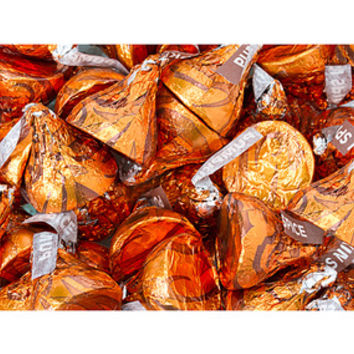 Hershey's Kisses Pumpkin Spice Candy: 60-Piece Bag