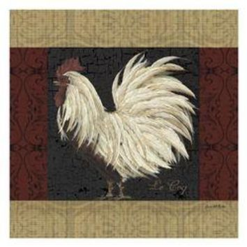 Red Scroll Rooster 2