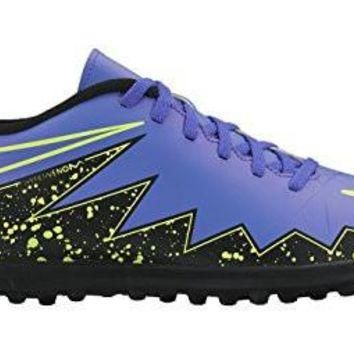 nike hypervenom phade II TF mens football boots 749891 soccer shoes turf (US 9, hyper