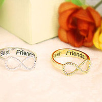 Silver Bestfriend Ring