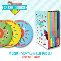 CrashCourse World History: The Complete Series DVD Set