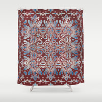 Geometry In Bloom Shower Curtain by Octavia Soldani | Society6