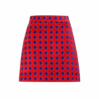 Exclusive to mytheresa.com – polka-dotted cotton terrycloth skirt