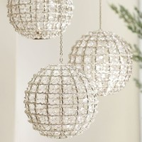 Gemma Beaded Globe Tealight Holder