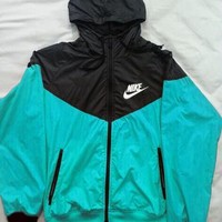 NIKE Coat jacket coat windbreaker sportswear Green