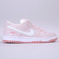 Nike Dunk Low Pro SB New fashion hook print running shoes women Pink