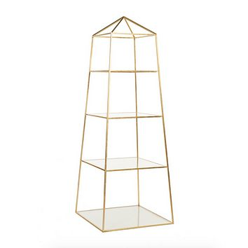 Worlds Away Piper Etagere