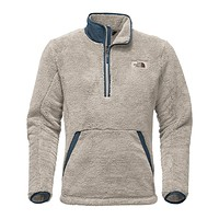 Men's Campshire Sherpa Fleece Pullover in Granite Bluff Tan by The North Face