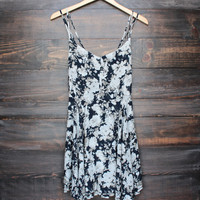 flower and tell 2.0 floral print dress