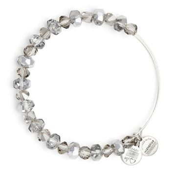 Smoke Tinsel Beaded Bangle | Alex and Ani