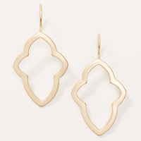 Charm Outline Earrings | LOFT