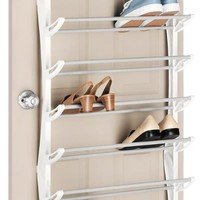 Whitmor 6486-1746-WHT Over the Door Shoe Rack, White, 36-Pair: Amazon.ca: Home & Kitchen