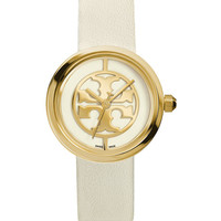 Tory Burch Reva 36mm Stainless Steel Watch, Ivory