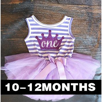 2018 Summer Baby Girl Dresses Princess Stripe Children Clothing For Toddler Girl First Birthday Party Wear Brand Girls Clothes