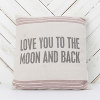 To The Moon And Back Pillow | Altar'd State