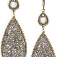 Dana Kellin Large Double Drop Earrings