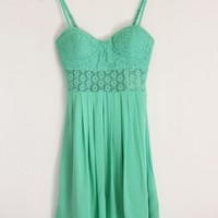 Bustier Lace CutOut Dress