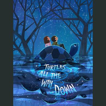 DFTBA - Turtles All The Way Down - Aza & Davis Poster
