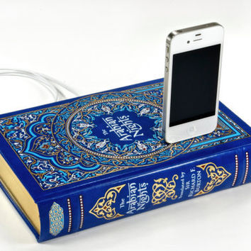 Arabian Nights iPhone Book Charger by CANTERWICK