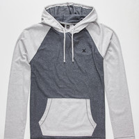 Hurley Weekend Mens Lightweight Hoodie Navy  In Sizes
