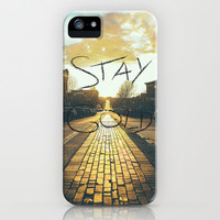 Stay Gold Ponyboy iPhone Case by Bronson Sneling