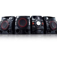 LG CM4550 700W 2.1ch Mini Shelf System with Built-in Subwoofer and Bluetooth®