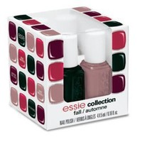 Essie 4 Piece Cube Fall Collection 2012 Color Cosmetics - Multi
