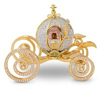 Disney Parks Cinderella Coach Miniature Jeweled Figurine Arribas Brothers New