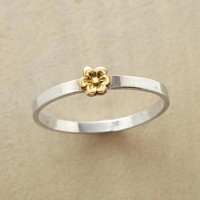 Gold Poppy Ring