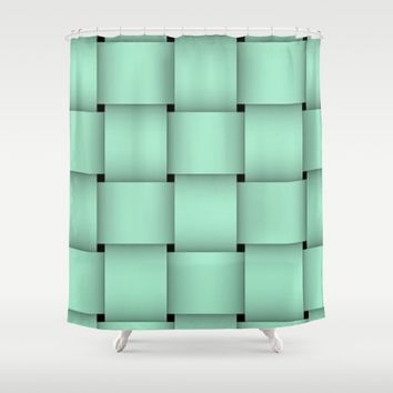 TEALLS Shower Curtain by violajohnsonriley
