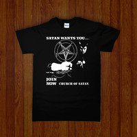 CHURCH OF SATAN WANTS YOU Shirt