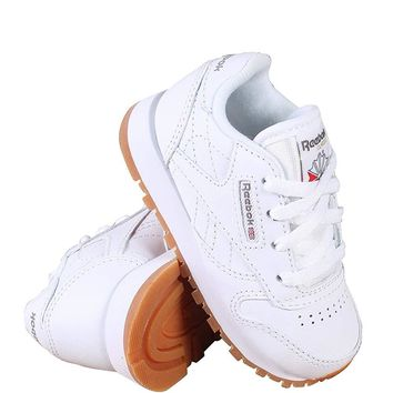 Reebok Classic Leather Shoe (Infant/Toddler)