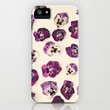 Violas  iPhone & iPod Case by Laura Ruth