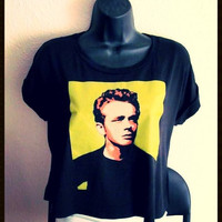 Vintage James Dean Crop Top