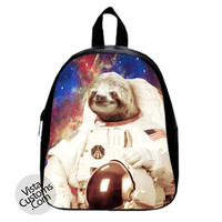 Dolla Dolla Bill Sloth Neil Amstong Astronot New Hot School Bag Backpack
