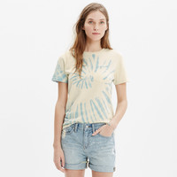 JUNGMAVEN® POCKET TEE IN TIE DYE