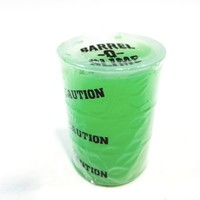 Barrel O Slime Green Glow In The Dark Silly Sludge Container Of Slime