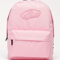 Vans Realm Pink School Backpack - Womens Backpack - Pink - One