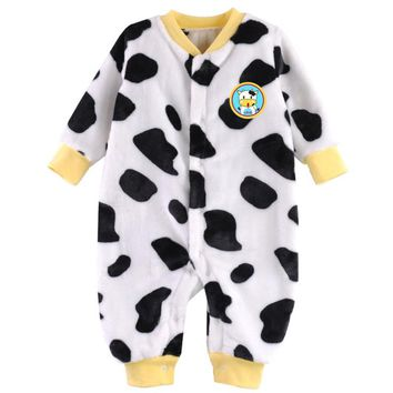 2018 Baby Clothes Flannel Newborn Clothing Infant Baby Rompers Jumpsuit Costume New Born Clothes Girls Boys One-pieces