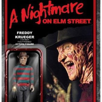 Nightmare on Elm Street Freddy Krueger 3 3/4 Inch ReAction Figure