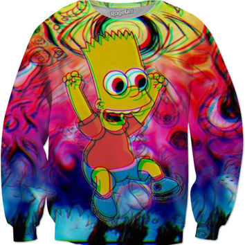 Trippy Bart Sweatshirt