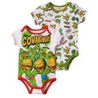 Teenage Mutant Ninja Turtles 2-pk. ''Cowabunga!'' Bodysuits - Baby Boy
