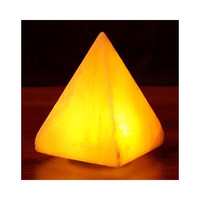 Himalayan Salt Pyramid Salt Lamp Usb 3.5 In