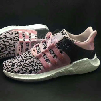 adidas Originals EQT Support Boost Casual Sports Shoes Pink