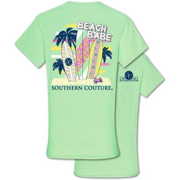 Southern Couture Preppy Beach Babe T-Shirt