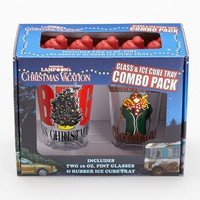 ICUP 2-pk. National Lampoon's Christmas Vacation Pint Glass & Ice Cube Tray Set