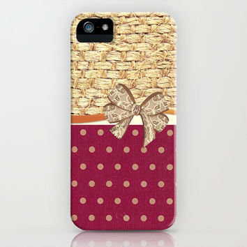 Wicker - for iphone iPhone & iPod Case by Simone Morana Cyla