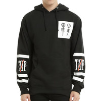 Autumn&Winter Fashion New Twenty One Pilots Big Logo Hooded Male Streetwear Hip Hop Long Hoodies Clothing Men Outerwear
